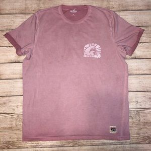 Hollister men's T-shirt with cuffed sleeves XL
